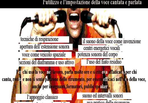 CORSO ANNUALE –  VOCE E CANTO