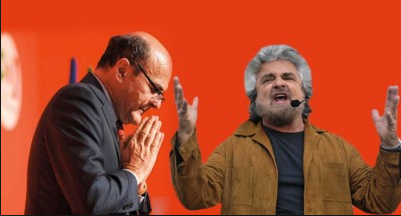 Grillo pesta Bersani, i suoi troll si corcano fra loro