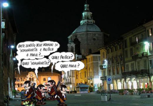 Incendi a catena a Pavia. L'incubo della 'ndrangheta