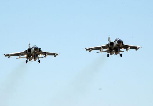 Scontro di due caccia Tornado sulle colline marchigiane