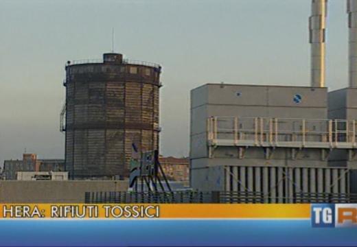 Video – Hera rifiuti tossici sotto la sede al centro di Bologna