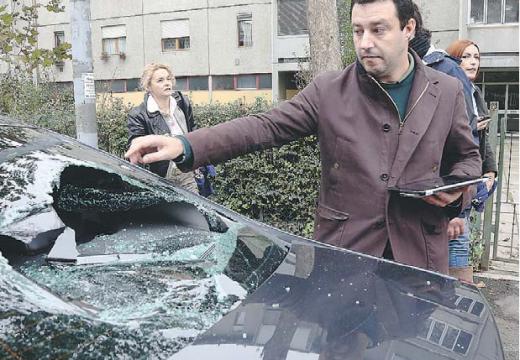 Centrale di spaccio il campo nomadi dell'aggressione a Salvini
