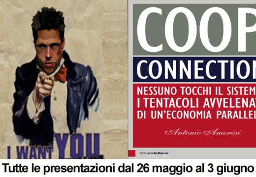 Bologna, Trieste, Pavia, Alessandria… CoopConnection dal vivo presentazioni dal 26/5 al 3/6