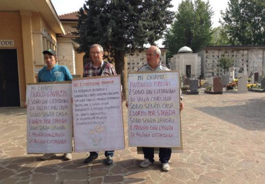 «Profughi italiani» costretti a dormire al cimitero. E le istituzioni spendono 20 mln per gli immigrati