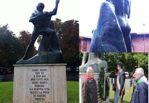 Da ridere. Il monumento al partigiano è un guerriero fascista e…